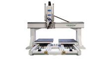 Doble Tabla 4 Axis ATC CNC Router